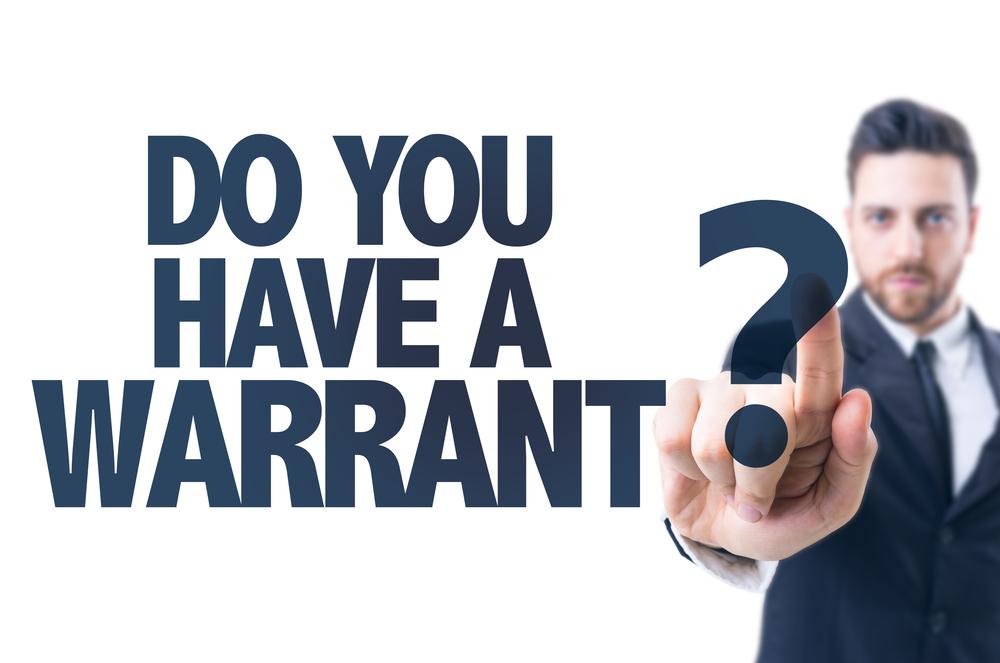 free warrant checks in California