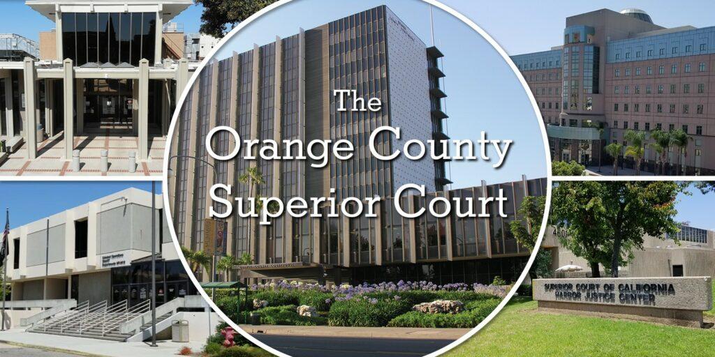 bail bonds Orange County Superior Court Locations